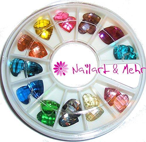 24-x-un-gran-corazon-diamante-de-imitacion-en-strassrad-8-x-8-mm-muy-bien-acabado-bien-adecuado-para