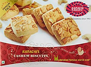 Karachi Bakery Cashew Biscuits, 400g