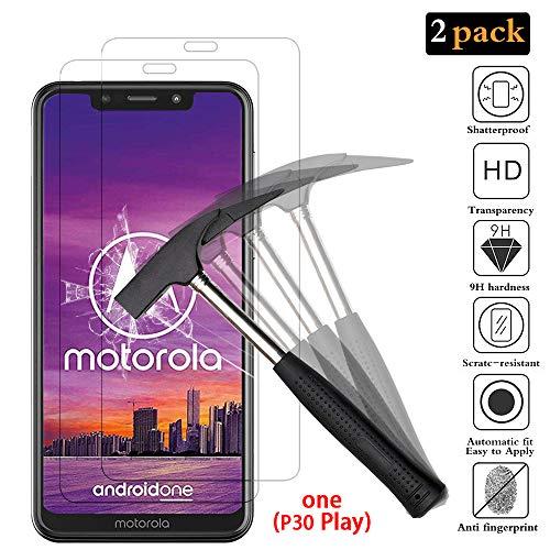 ANEWSIR Kompatibel mit Panzerglas Schutzfolie für Motorola One, Motorola One Schutzfolie, [2 Stück] 9H Härte, Ultra-klar, Blasenfrei, Panzerfolie Bildschirmschutzfolie Folie Für Motorola Moto One.