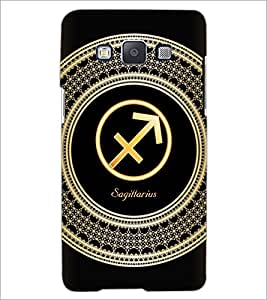 PrintDhaba Zodiac Sagittarius D-2598 Back Case Cover for SAMSUNG GALAXY E5 (Multi-Coloured)