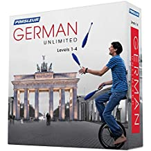 Pimsleur German Unlimited, Levels 1-4 (Pimsleur Unlimited)