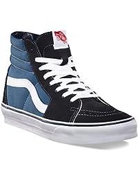 Vans SK8 Hi Marino Blanco Rojo Suede Unisex Trainers Zapatos