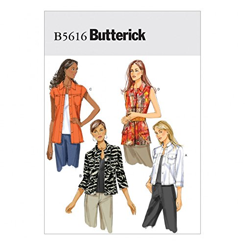 Butterick Sewing Pattern 5616 - Ladies Jacket Sizes: 14-16-18-20-22