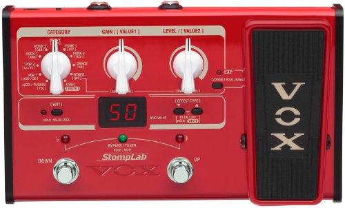 VOX StompLab II, Multieffekt für Bass, mit Pedal, Amp- und FX Modeling