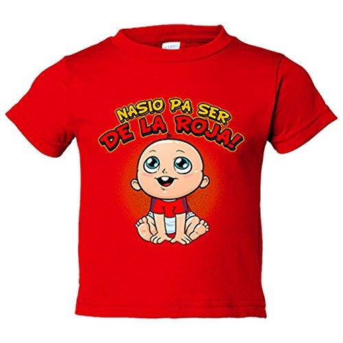 Camiseta niño nacido para ser de La Roja España fútbol - Rojo, 12-18 meses