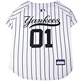 Pets First MLB Pet Jersey. – Baseball Hund Jersey. – Erhältlich in 29 MLB Teams. – Pet Jersey. – Hund Jersey. – MLB Jersey für Hunde. – Pet Shirt. – Hunde Shirt