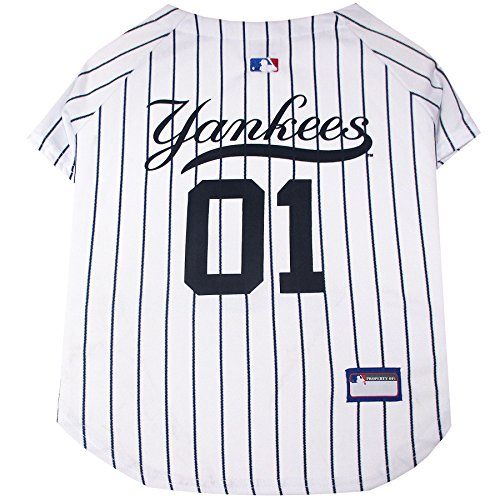 Team Baseballs Mlb (Pets First MLB Pet Jersey. – Baseball Hund Jersey. – Erhältlich in 29 MLB Teams. – Pet Jersey. – Hund Jersey. – MLB JERSEY für Hunde. – Pet Shirt. – Hunde Shirt)