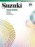 Suzuki Cello School Cello Part & CD, Volume 3 (Revised)