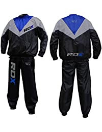 RDX Combinaison Sudation Survêtement Fitness Costume De Sauna Sweat Suit Training