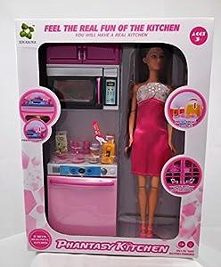Allkindathings - Muñeca de Juguete para niñas con muñeca de 30,48 cm y Accesorios
