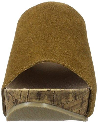 Andrea Conti Damen 1541501 Pantoletten Braun (Cognac)