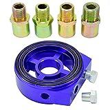 Ölfilter Sandwich Adapter Platte 1/8 NPT Öltemperatur Sensor M18 M20 M22 3/4-16