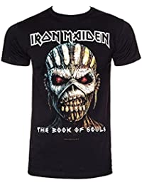 Iron Maiden Black T Shirt The Book of Souls