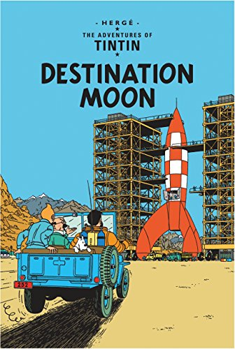 Destination Moon (The Adventures of Tintin) por Hergé