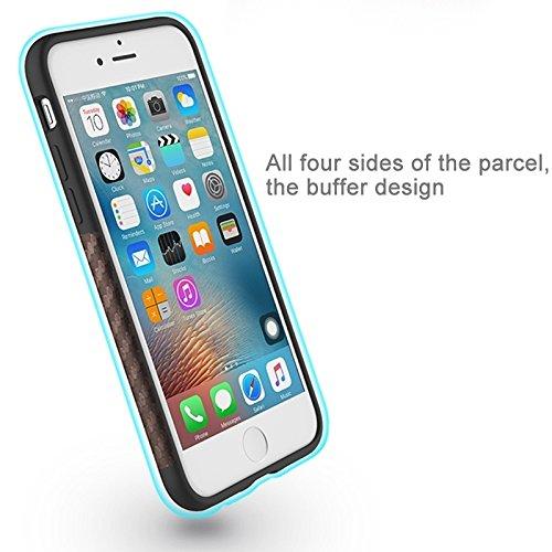 Hülle für iPhone 7 plus , Schutzhülle Für iPhone 7 Plus Natürliche Serie Künstlerische Carbon Faser Texture PU + TPU Schutzmaßnahmen zurück Fall ,hülle für iPhone 7 plus , case for iphone 7 plus ( Col Brown