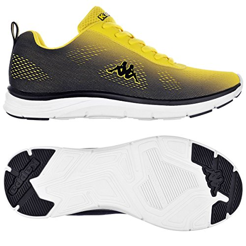 Sport Shoes - Kappa4training Cambus BLACK-YELLOW FLUO