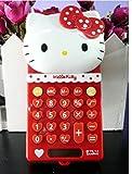 Di Grazia Red Colour Hello Kitty Design 8 Digitals Basic Electronic Pocket Solar Calculator