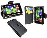 Microsoft Lumia 532 // Buchtasche Hülle Case Tasche Wallet