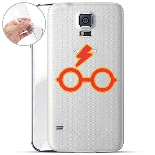 finoo | Samsung Galaxy S5 Weiche flexible lizensierte Silikon-Handy-Hülle | Transparente TPU Cover Schale mit Harry Potter Motiv | Tasche Case mit Ultra Slim Rundum-schutz | Harry Potter ()