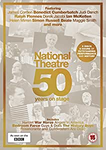 National Theatre Live: 50 Years on Stage [DVD] [2015]