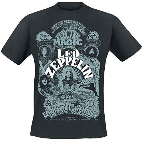LED Zeppelin Electric Magic T-Shirt Noir L