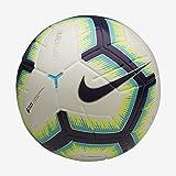 Nike PL NK Merlin, Pallone da Calcio Unisex Adulto, White/Blue Purple, 5