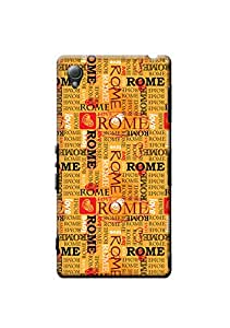 Sony Xperia Z3 Designer Case Kanvas Cases Premium Quality 3D Printed Lightweight Slim Matte Finish Hard Back Cover for Sony Xperia Z3