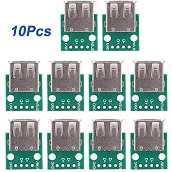 Micro USB a 5pin Adattatore DIP 2,54mm Breakout Modulo per Arduino DIY Raspberry Pi