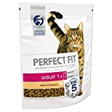 Perfect Fit Dry Cat Food Advanced Nutrition for Adult Cats 1+ with Chicken, 3 Bags (3 x 750 g)