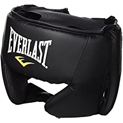 Everlast 4022 - Casco de artes marciales, color negro, talla única