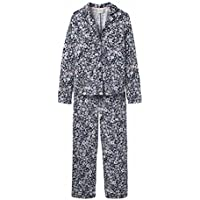 Joules Astrid Jersey Pyjama Set French Navy Ria Ditsy