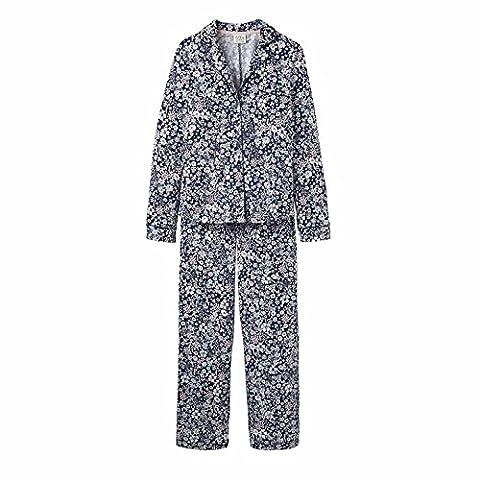 Joules Astrid Pyjamas French Navy Ria Ditsy-UK 10 (Adult)