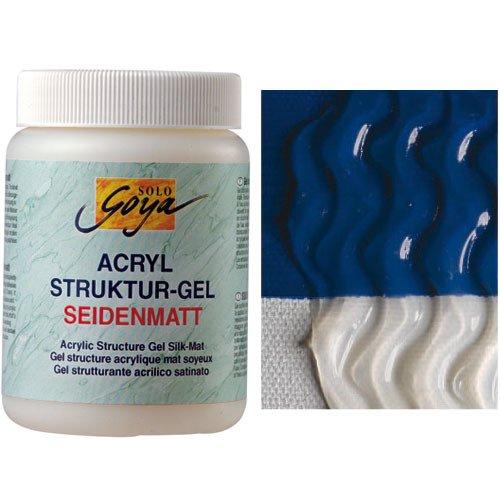 Solo Goya Acryl Struktur-Gel Seidenmatt,250 ml [Spielzeug]