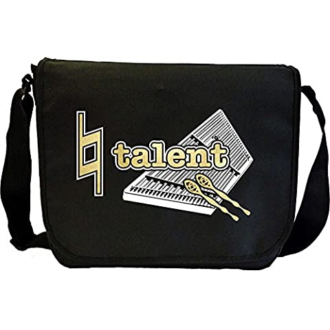 Dulcimer Hammered Natural Talent - Sheet Music Document Bag Borsa Spartiti MusicaliTee