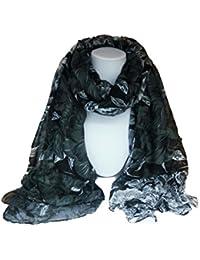 """La Loria bufanda de las mujeres """"Florid"""" el chal, el pañuelo, el mantón, el pañolón"""