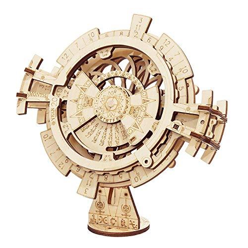 ROKR Perpetual Calendar-3D-Holzbausatz / Mechanische Modelle / Modellbau Mechanische Modellbau Kits Für Jugendliche und Erwachsene