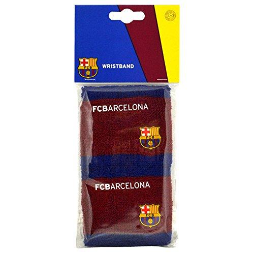 Schweißbänder mit FC Barcelona Design, 2 Stück