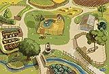 Papo 60501 Teppich Bauernhof, Spiel
