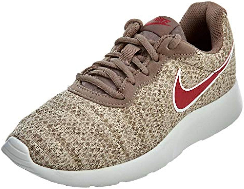 Nike – Tanjun Premium scarpe Particelle Marronee, Donna, Mink Marronee rosso Crush-String, 6   Qualità primaria    Uomo/Donne Scarpa