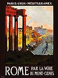 Visit Roma tourisum 30 x 40