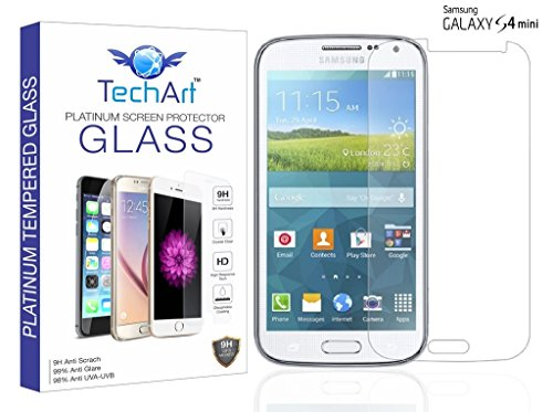 TechArt 9H Hardness Toughened Scratch Proof 2.5D Tempered Glass Screen Protector for Samsung Galaxy S4 mini  available at amazon for Rs.139