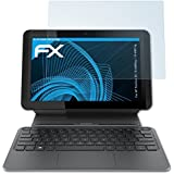 2 x atFoliX Lámina Protectora de Pantalla HP Pavilion X2 10-k000ng / 10-k001ng Película Protectora - FX-Clear ultra transparente