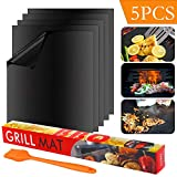 Best Grill Mats - Suntop Set di 5 Barbecue Grill Mat, Tappetini Review