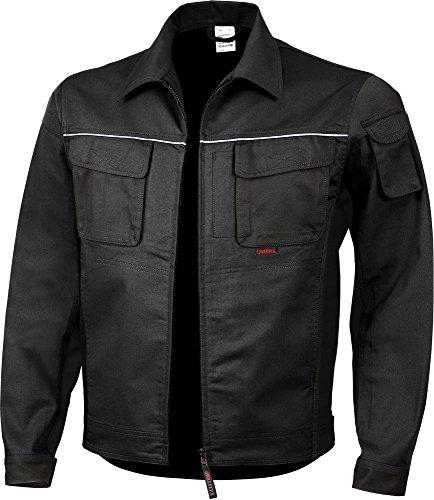 Qualitex PRO Bund-Jacke Arbeits-Jacke MG 245 - schwarz - Größe: L