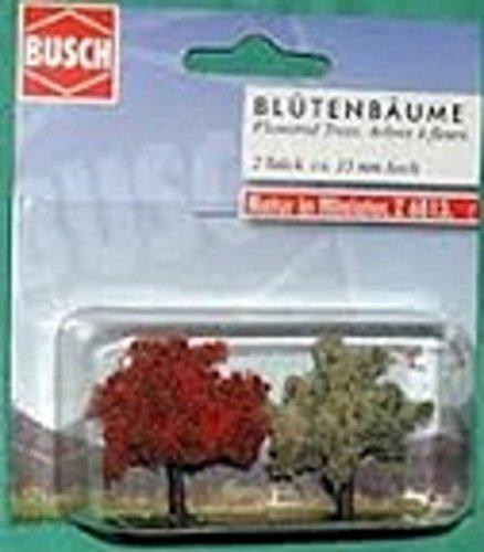 busch-environnement-bue6813-modelisme-ferroviaire-arbre-en-fleurs-35-mm-2-pieces