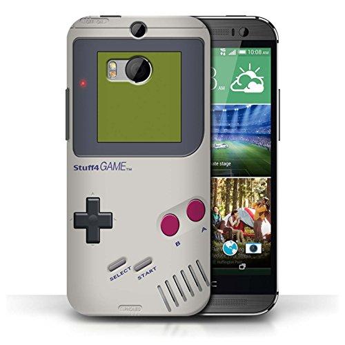 iCHOOSE Hülle / Hülle für HTC One/1 M8 / harter Plastikfall für Telefon / Collection Spielkonsolen / Nintendo Game Boy (Htc M8 Harten Fall)