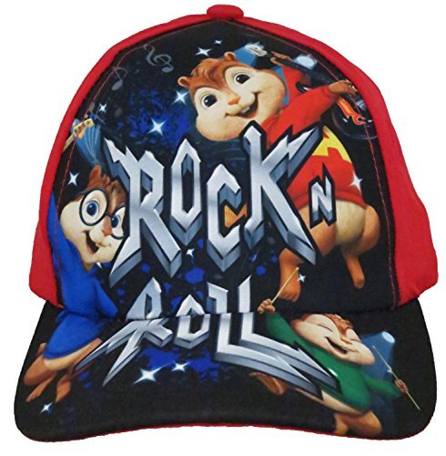 b91f51df938 55% OFF on Alvin and The Chipmunks Boys Red Baseball Cap  2013  on Amazon