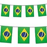 7M Guirnaldas Brasil Fútbo Bandera Juegos Olímpicos Rio 2016