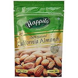 Happilo100% Natural Premium Californian Almonds