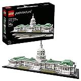 LEGO Architecture - Le Capitole des États-Unis- 21030 - Jeu de Construction